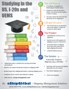 UEMS helps ship I-20s